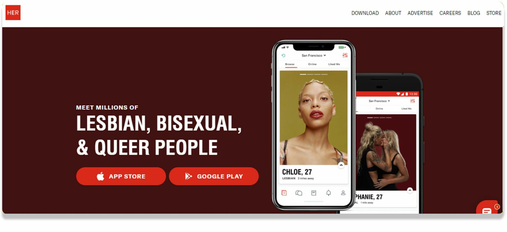 Her Gay And Lesbian App