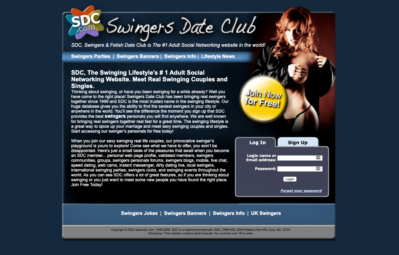 swingersdateclub Site Preview