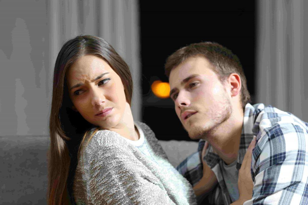 Couple rejection